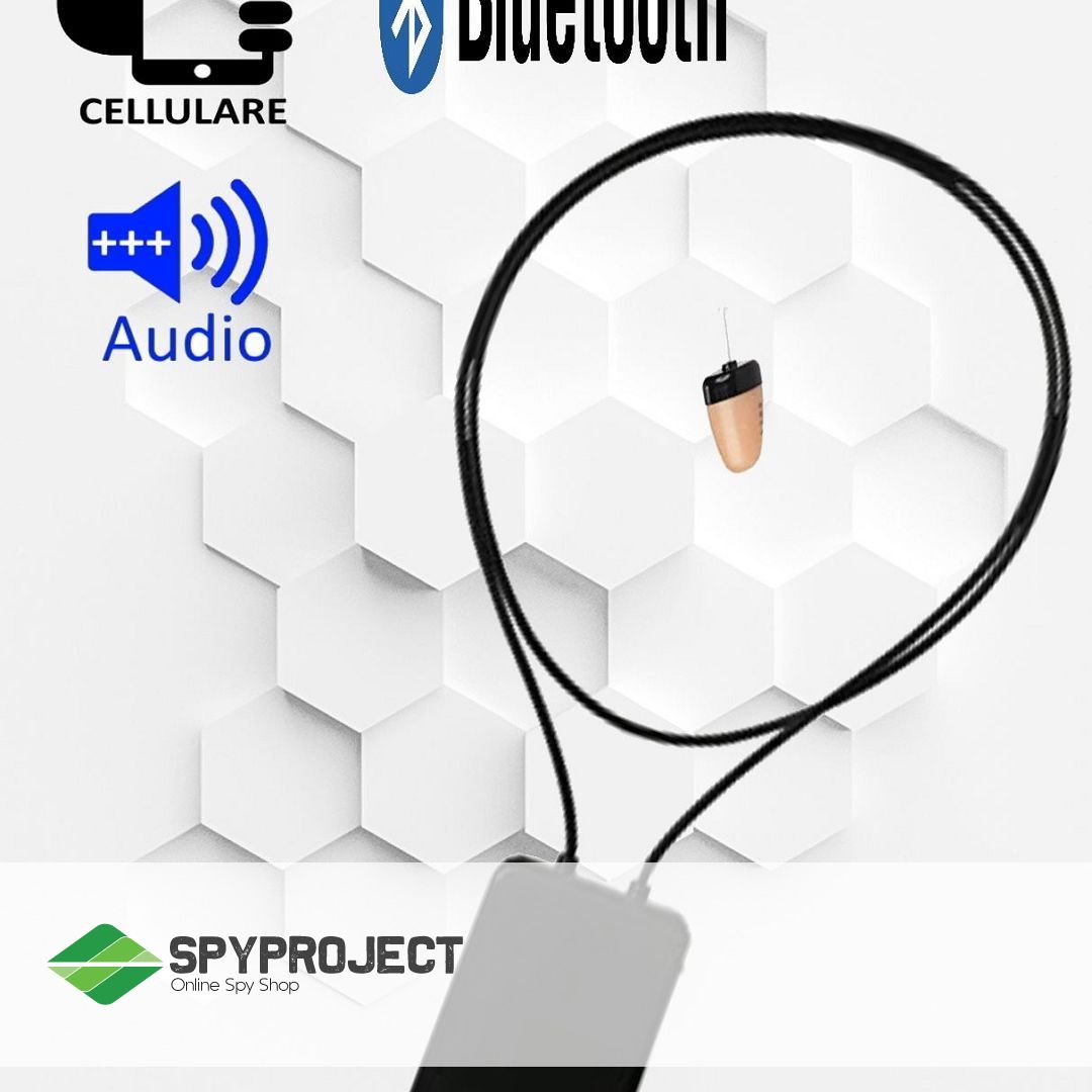Auricolare bluetooth invisibile professionale