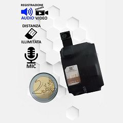 Micro spia GSM ascolto ambientale
