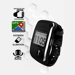 Orologio GPS anti sequestro