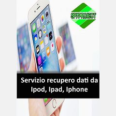 Recupero dati da iPhone iPad